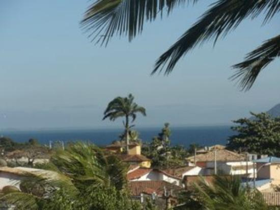 Pousada Lestada: Vista desde la terraza donde se desayuna