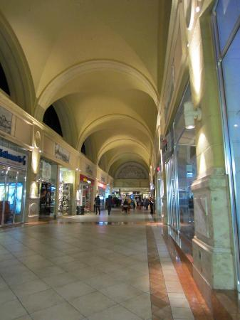 Inside the Nelson Mandela Square mall