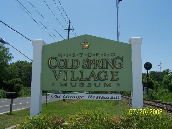 Historic Cold Spring Village : Cold Springs Village sign