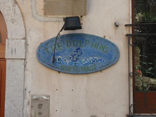 The Dolphin Guest House: The entrance