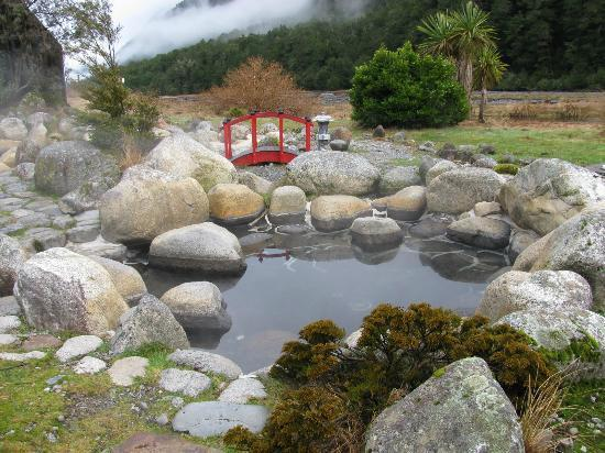 Maruia Hot Springs: Loking down the valley