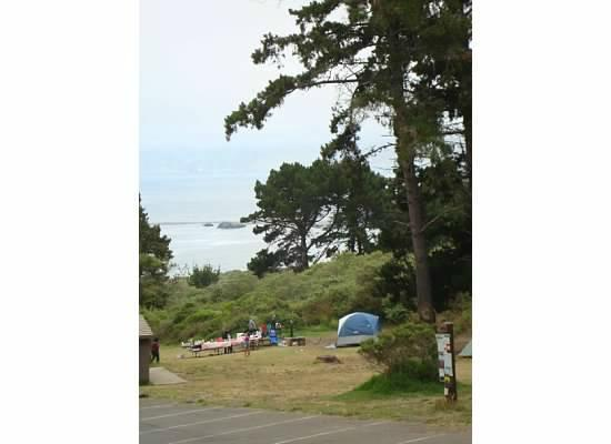 Plaskett Creek Campground: group site 2