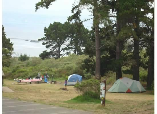 Plaskett Creek Campground: Group 2 and 3
