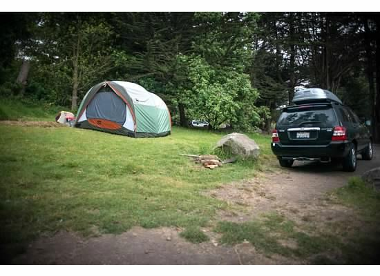 Plaskett Creek Campground: site 32
