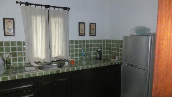 Baannamping Riverside Village: Kitchen area (rm 1)