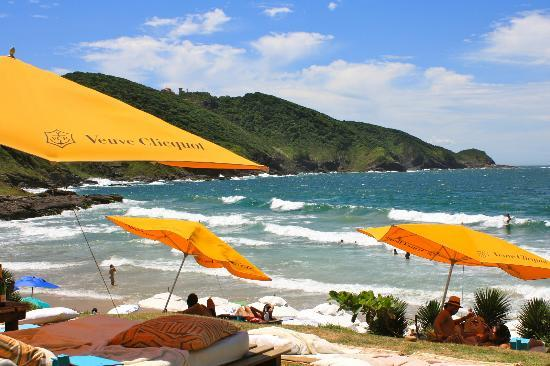 Rocka Beach Lounge & Restaurant: Vista do Deck - Rocka Beach Lounge