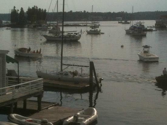 Boothbay Harbor Inn: From the room deck
