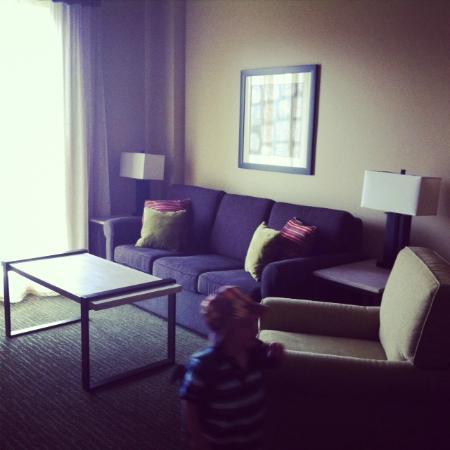 Jay Peak Resort: Livingroom