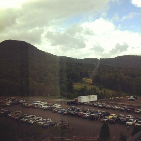 Jay Peak Resort: View from the room