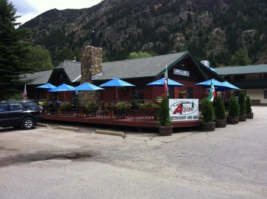 Alpine Restaurant And Bar Picture Of