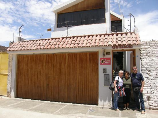 Hostel Camiluz : ingresso hostel Camilluz