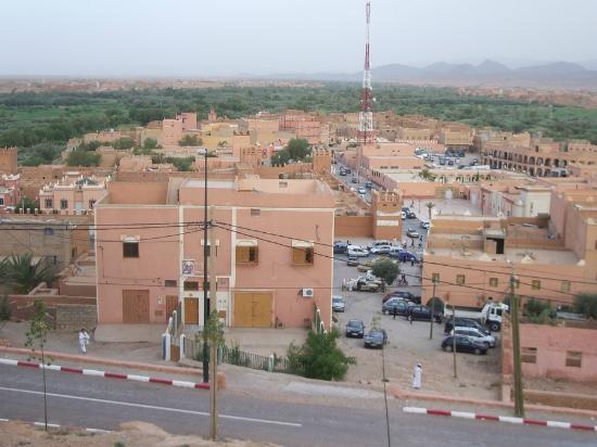 Hotel Saghro: Vista dalla terrazza