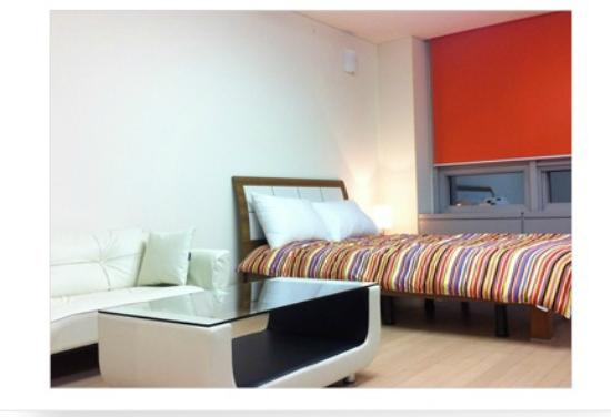 Incheon Airport Global Guesthouse : 더블룸1