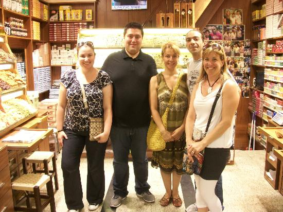 Turkish Flavours: With our tour guide & the spice expert.