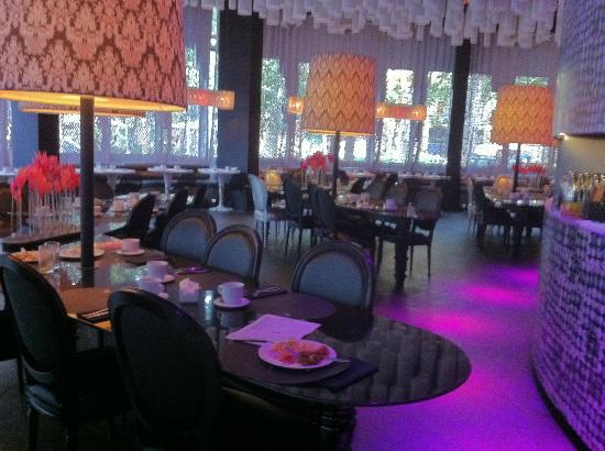 Barcelo Raval: Lobby Breakfast Area