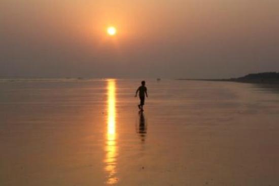 Mandarmani Beach : sunset