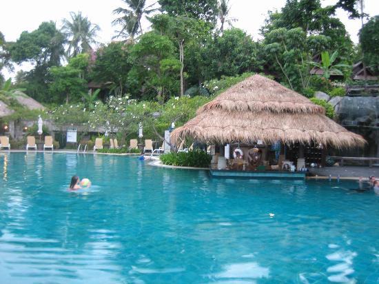 Nora Beach Resort and Spa: Pool mit Swim-up Bar