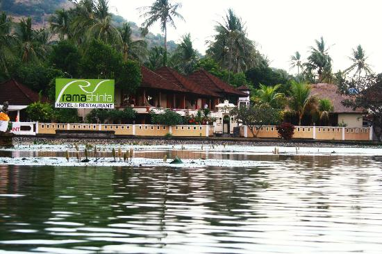 Rama Shinta Hotel: from the other side of laguna