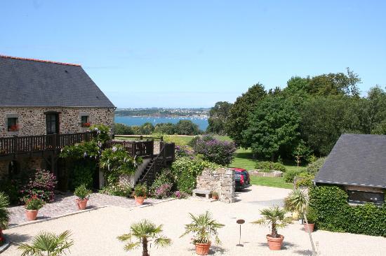 Manoir de Rigourdaine : View from our bedroom