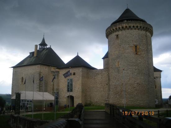 Château de Malbrouck à Mandereb en Moselle.