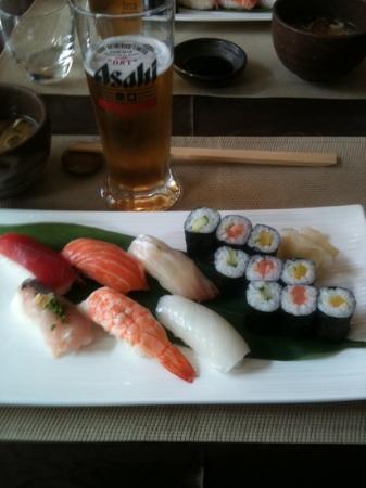Restaurant Masami : menu sushi