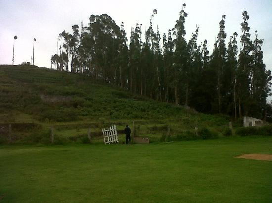 Kodai - By The Valley, A Sterling Holidays Resort: backyard of resort property