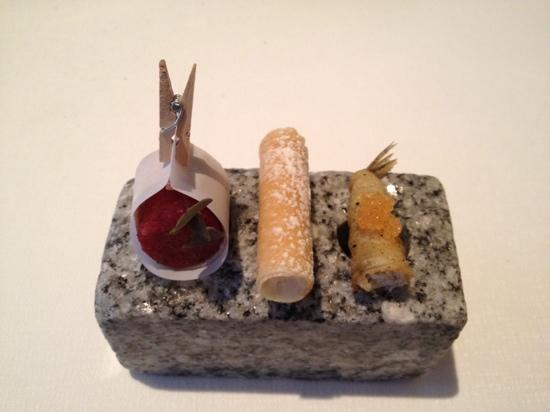 Chez Dominique: one of the many amuse bouches