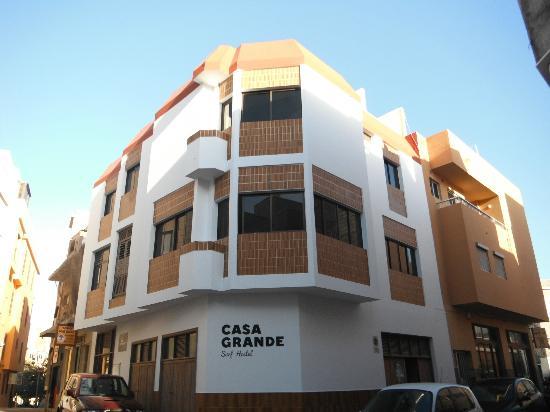 Casa Grande Surf Hostel: Building