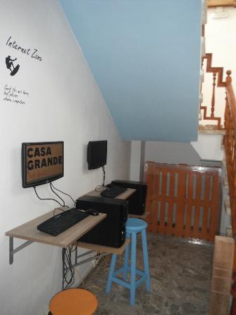Casa Grande Surf Hostel: Wifi-Zone