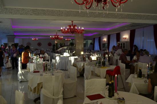 Hotel Buratti: Sala pranzo/cena