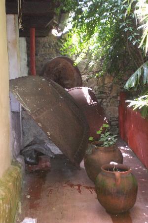 Hotel Hacienda Los Morales: vasellame