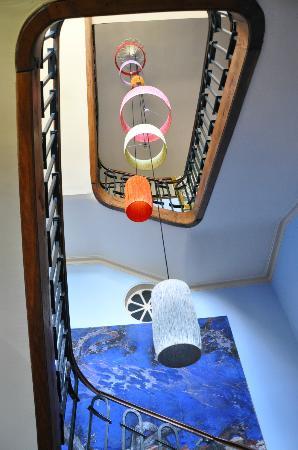 Domaine de Betouzet : The staircase