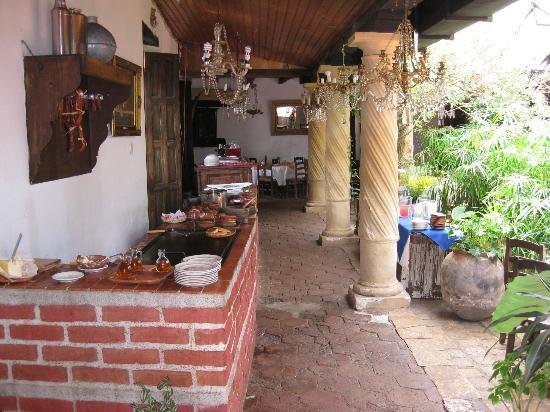 Hotel Hacienda Los Morales: sala colazioni