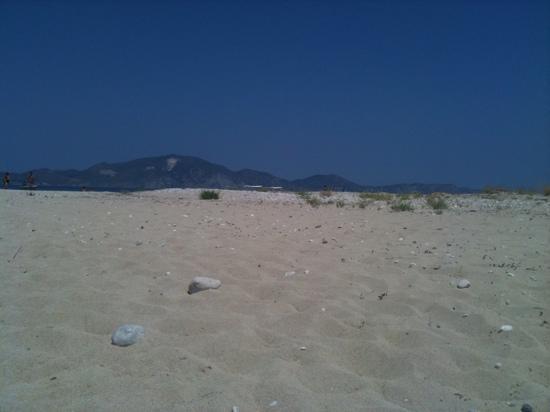 Zakynthos, Greece: sand dunes in Marathonissi