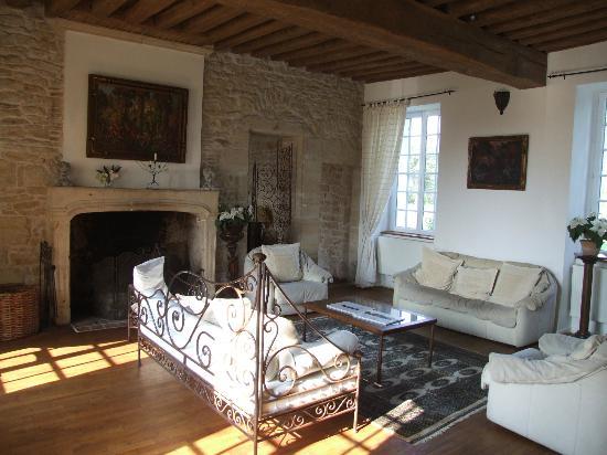 Manoir de Theuran : Main lounge