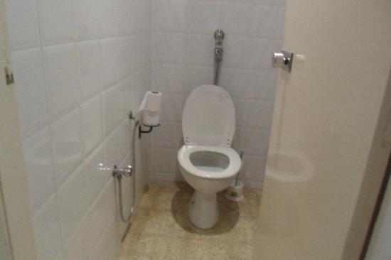Hotel Movie Gate: wc (pas de chasse d'eau)
