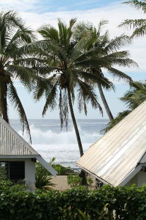 Sunrise Beach Bungalows: View from the House balcony