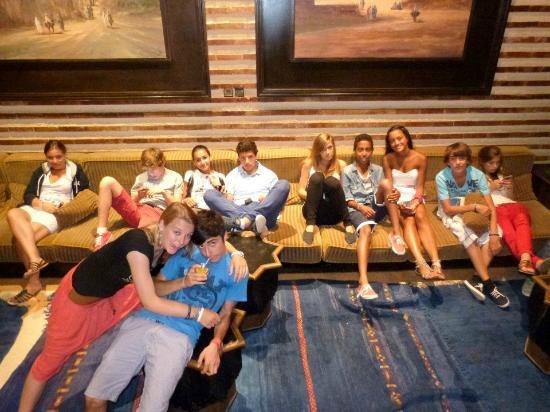 Club Med Agadir : Avant la soirée