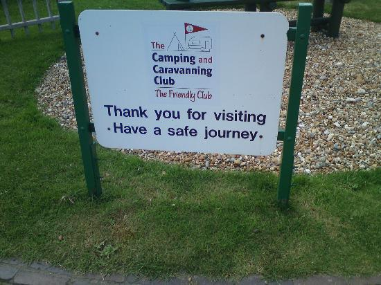 Norman's Bay Camping And Caravanning Club: Entrée