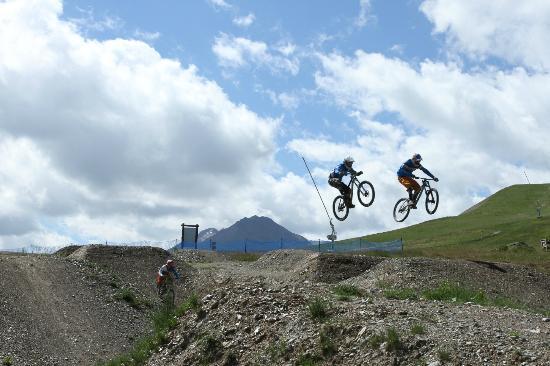 Mottolino Fun Mountain: La jumo area