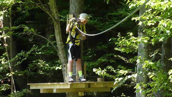 Bromley Mountain : Mountain Adventure Park obstacle