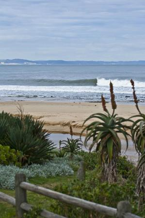 On the Beach Guesthouse: If you are a surfer. World class waves on the door step!