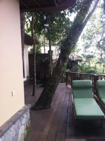 Natura Resort and Spa : balcony villa 7