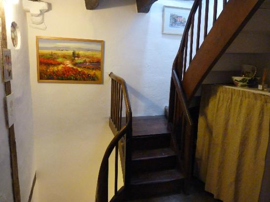 Birchall B&B - Chambres d'hotes: Stairs