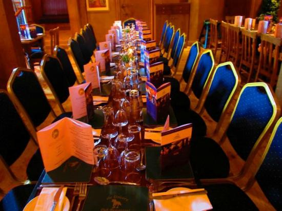 Fables Restaurant at The Unicorn: Our intimate dining area