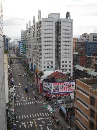 シティ ホテル 台北(北城大飯店), 部屋からの眺め