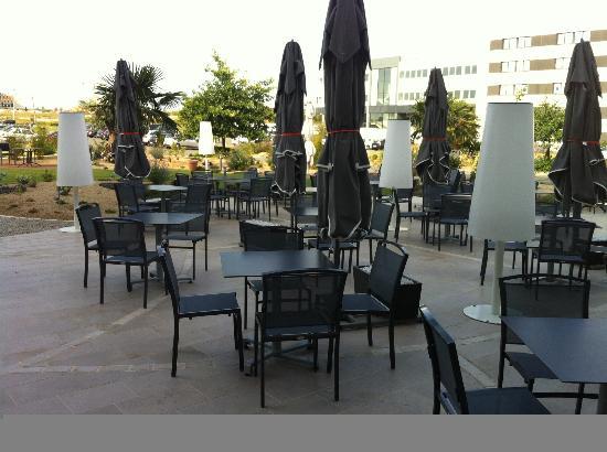 Plaza Site du Futuroscope Hotel: LA PLUS BELLE TERRASSE DU SITE