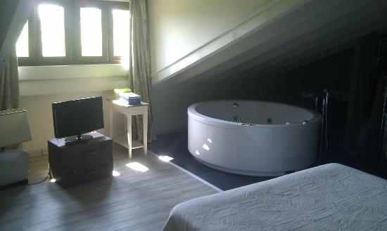 La Posada de Langre : habitacion