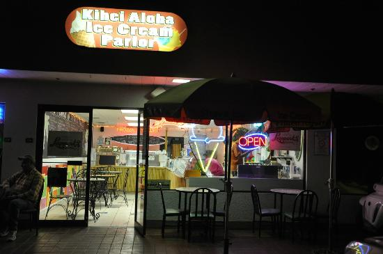 Kihei Aloha Ice Cream & Yogurt: El local