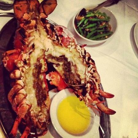 The Palm West Side : Lobster